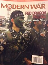 Modern War Magazine Civil War In China Red Dragon Sept/Oct 2015 011918nonrh