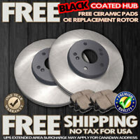 O0284 FIT 1996 1997 1998 1999 Toyota Camry 4Cylinder FRONT Brake Rotors Pads