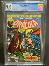 CGC 9.0 Marvel Tomb of Dracula 10 1st Appearance Blade The Vampire Slayer