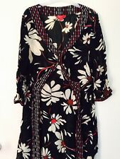 GORGEOUS MONSOON DRESS TO THE KNEE - STUNNING PRINT SIZE 12