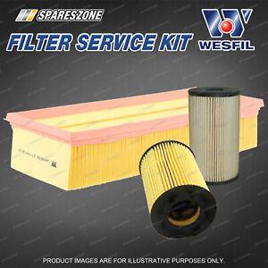 Oil Air Fuel Filter Kit for Volkswagen Caddy 2K Eos 1F Passat 3C Tiguan 5N