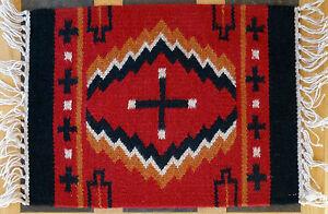 Wool Placemat 35-HIM15X20 Southwest Southwestern Geometric Design