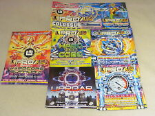 7 UPROAR HAPPY HARDCORE RAVE TECHNO TRANCE GABBER FLYERS DREAMSCAPE HTID PK 1