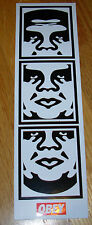 """SHEPARD FAIREY Obey Giant CLASSIC ANDRE STRIP Sticker 2 X 6.75"""" art from poster"""