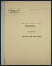 MANIPULATIONS DE MECANIQUE DES METAUX -SAINT CYR - FAC DE SCIENCES- AERONAUTIQUE
