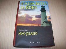 NINO FILASTO'-L'ALFABETO DI EDEN-HOBBY&WORK-PRIMA EDIZIONE 2007-RILEGATO-NUOVO