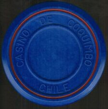 Chile Casino Chip- Casino de Coquimbo - valueless - roulette azul/rojo