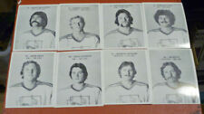 1975-76 Roadrunners Phoenix Team Set