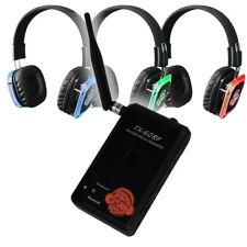 BEST Silent Disco Yoga STARTER Package: Portable Transmitter w/ Mic + Bluetooth