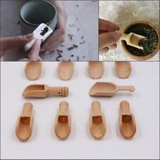 Naturel Wooden Coffee Tea Sugar Salt Spoon Scoop Kitchen Utensil Set Wood Spoon