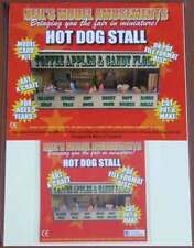 Fairground Hot Dog Stall Model Card Kit on PDF Disc + A4 Card