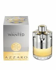 AZZARO WANTED * 3.4 Oz EDT COLOGNE SPRAY FOR MEN * brand NEW IN SEALED BOX *nib*