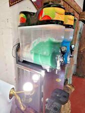 More details for large slush machine double compartments commercial  ice slush maker