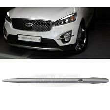 Chrome Fog Lamp Cross Pin Garnish Molding Cover for KIA 2015-2018 Sorento UM