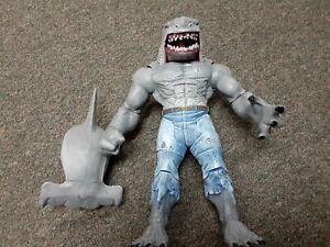 DC Comics Multiverse King Shark BAF CNC 100% Complete w/Hammerhead Mattel 2017