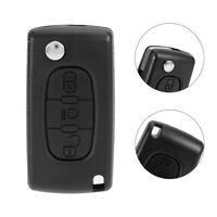3Button Car Remote Flip Key Fob Case Blade Cover Shell for Citroen C3 C4 C5 C6