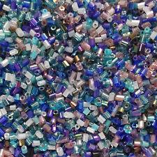Stiftperlen Bastelmix Perlenmix 25 g Perlenmischung MiPerla blau