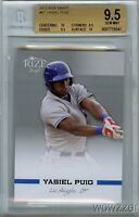 2012 Rize Draft #67 Yasiel Puig Limited Edition ROOKIE BGS 9.5+2 BGS 10 PRISTINE