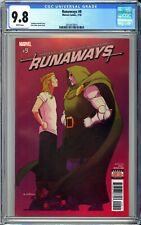 RUNAWAYS #9 CGC 9.8 NM/M * Rainbow Rowell Kris Anka Marvel Comics Hulu