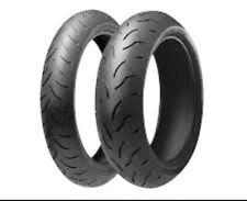 Satz 120/70 ZR 17 (58W) & 190/50 ZR 17 (73W) M/C Bridgestone BT 016 Pro