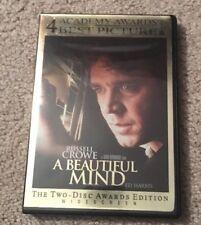 A Beautiful Mind DVD - 2 Disc Set Widescreen
