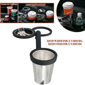 3Hole 120° Rotation Stainless Steel Insulation Cup Holder Bottle Beverage Holder