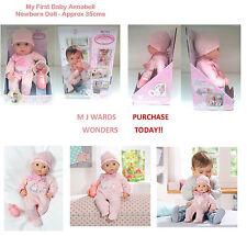Mon premier bébé annabell-newborn doll-environ 35cms ** achat aujourd'hui **
