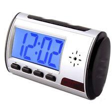 Sveglia con telecamera nascosta, registrazione continua o movimento, 8GB INCLUSA