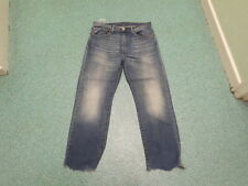 "Levi's 751 Straight Jeans Waist 34"" Leg 28"" Faded Medium Blue Mens Jeans"