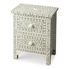Butler Vivienne Grey Bone Inlay Accent Chest, Gray - 2865321