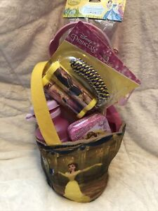Disney Beauty & The Beast Easter Basket - Reversible - Birthday, Get Well, All