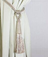 Par de cortina de color avena barbudo Cotswold Diseño Decorativo Tiebacks
