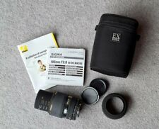 Sigma 105mm F/2.8 EX DG Macro Lens