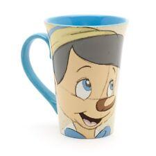 NEW DISNEY PINOCCHIO JIMINY CRICKET SKETCH COFFEE LATTE TEA MUG CUP