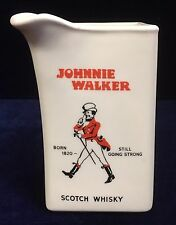 Vintage Johnnie Walker Water Jug/Pitcher by Huntley Ware Australia