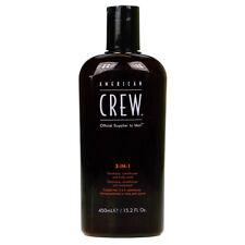 American Crew 450ml 3-in-1 Shampoo, Conditioner and Body Wash