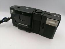 Minolta AF-C + Flash EF-C vintage analog point and shoot