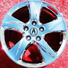 "SET OF 4 CHROME 17"" ACURA TSX OEM FACTORY WHEELS RIMS 71781"