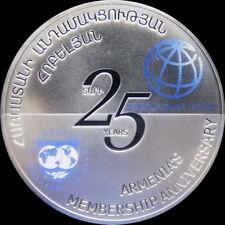 ARMENIA 1000 DRAM COIN 2017 Monetary Fund World Bank Anniversary Of Membership