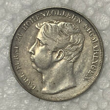1847 Germany 1 Gulden Silver Coin 10.53g