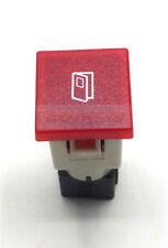 COBO RED OPEN DOOR LIGHT CAR DASH BOARD PANEL WARNING LIGHT LAMP 12V 24V 19MM