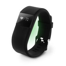 HEART RATE ACTIVITY TRACKER WRISTBAND FITBIT HR STYLE WIRELESS WATCH BLACK