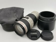 Canon EF 70–200mm f/4L IS USM Camera Lens (excellent condition)