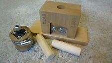 Dowel Rod Cutter DRC22 for making round Dowel Rods from square