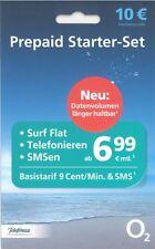 O2 Prepaid Starter Set inkl. Startbonus10€ TripleSIM OHNE VERTRAG
