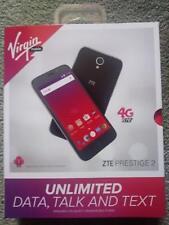 LOT OF 5 NEW Virgin Mobile - ZTE Prestige 2 4G LTE 16GB  Prepaid