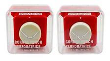 CARL Carla Craft Corner Punch CP-6 Twin Pack Round Corner & Cut Out Edge Shape