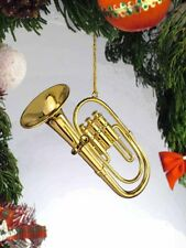 Miniature Instrument Gold Tuba Ornament (OGTU10)  with Gift Box 3 Inches