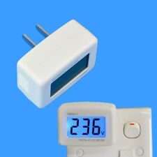 US/EU Plug Watt Voltage Meter Electricity Usage Monitor with Power Analyzer