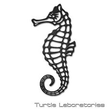 Decorative Sea Horse Metal Wall Art Hanging Home Decor Sea Life Fishing Man Cave